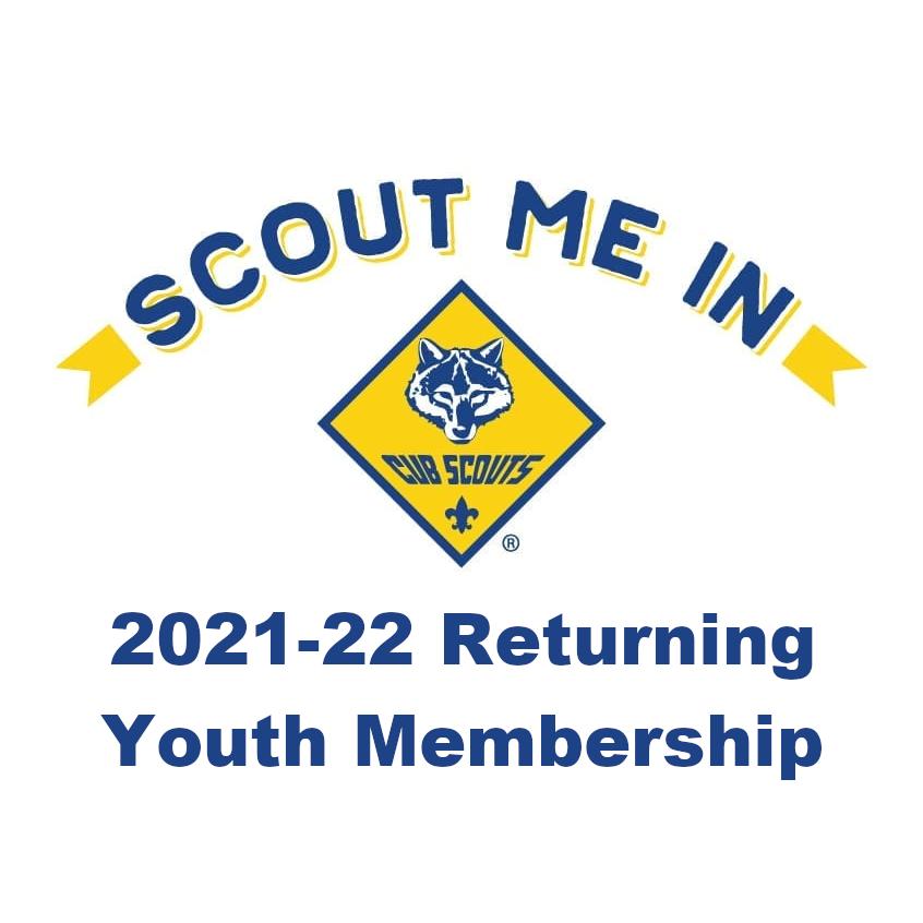 2021-22 Returning Youth Membership